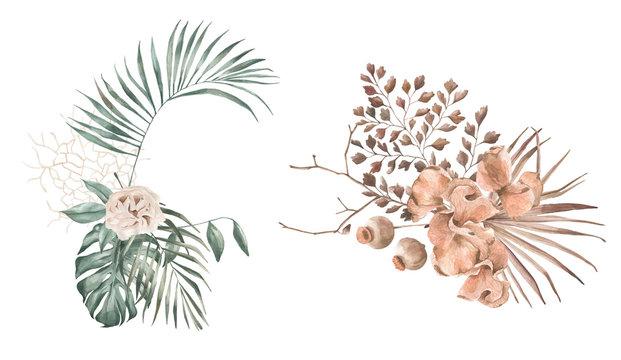 Flower Composition watercolour