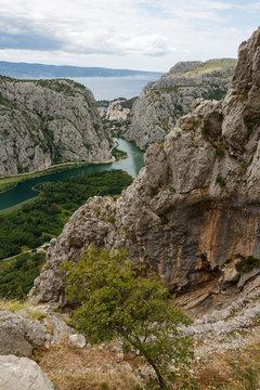 Cetina Canyon Omis