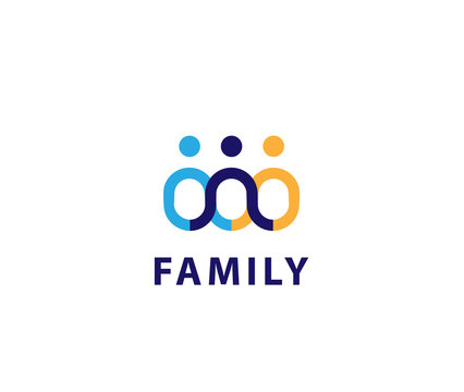 Family link logo design