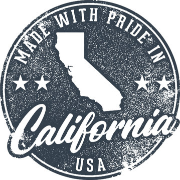 Made in California State Packaging Label