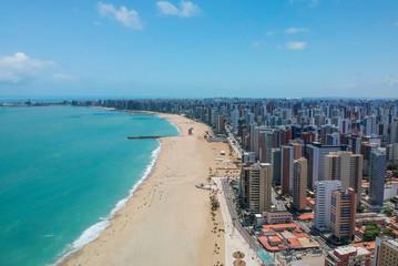 Vista aérea de Fortaleza, Ceará, Brasil