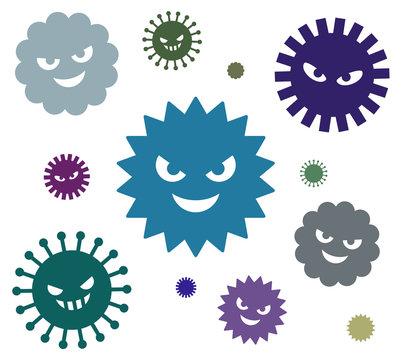 細菌 ウイルス