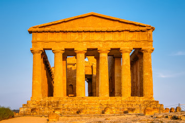 Valley of the Temples is an archaeological site in Agrigento