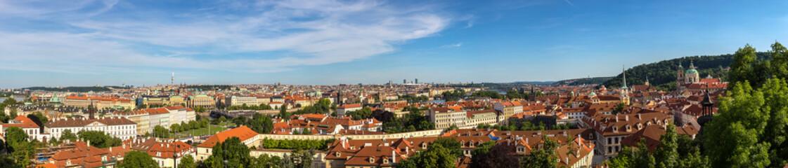 Wall Murals Prague Panoramic view of Prague