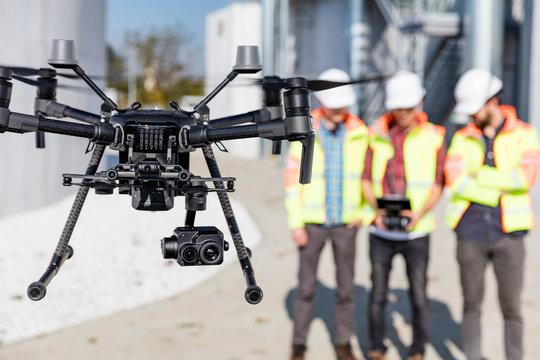 Industrial drone operators