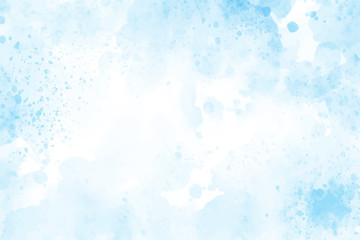 blue watercolor splash background eps10 vectors illustration