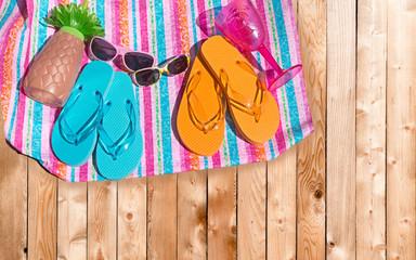 Beach footware