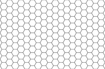 Formes hexagonales, nids d'abeilles