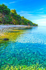 Beach in Croatia, Istria Peninsula