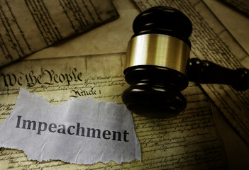 Constitution Impeachment concept