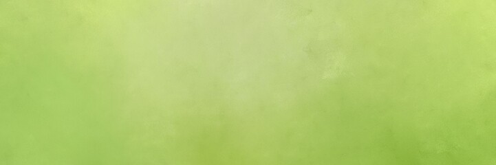 abstract painting background texture with dark khaki, tan and yellow green colors and space for text or image. can be used as header or banner Wall mural