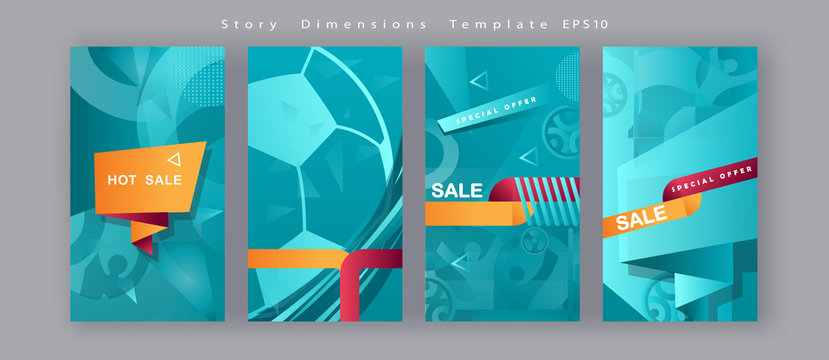 Soccer European championship. 2020 Abstract Turquoise background soccer pattern banner set Football. Poster Europe Champion League award cup, Soccer ball, Winner, world WIN Finale Game trend template