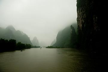 Foto auf Acrylglas Guilin 桂林 カルスト地形 山水 中国