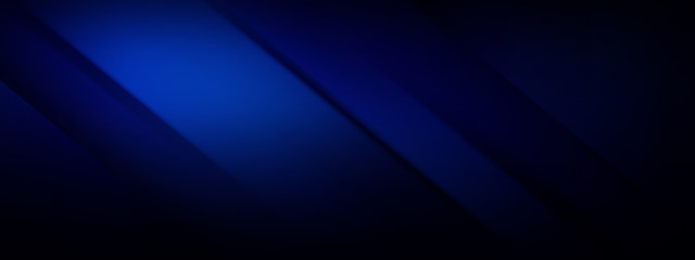 Wide banner - dark blue background Fotomurales