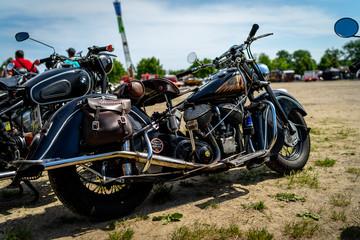 PAAREN IM GLIEN, GERMANY - MAY 19, 2018: Motorcycle Indian, 1939.