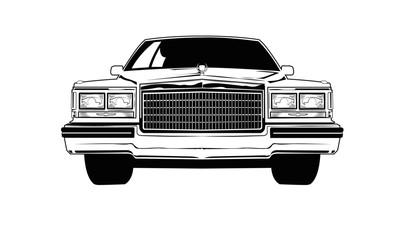 Fototapeta Vintage American Car obraz