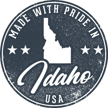 Made in Idaho State Packaging Label
