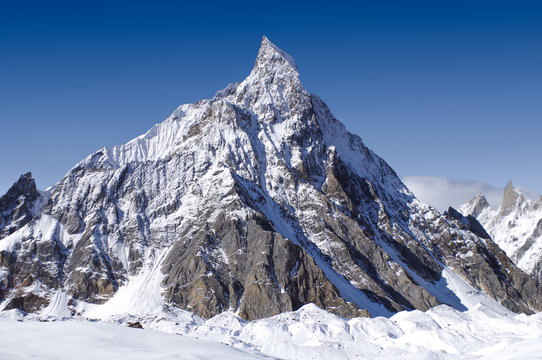 K2 peak the 2nd tallest mountain on the earth