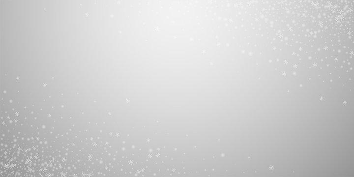 Beautiful glowing snow Christmas background. Subtl