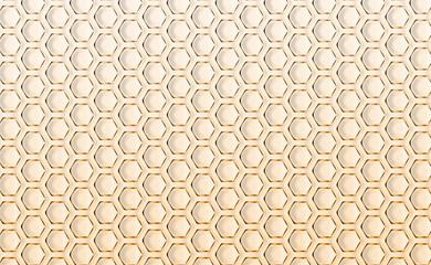 Cellules alvéolaires, nids d'abeilles