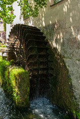 Old Historical Mill Wheel