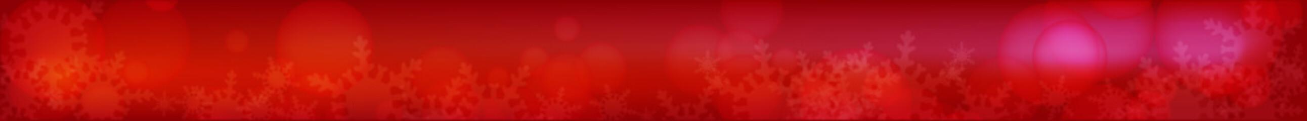 冬の幻想的な雪の結晶背景素材 ビッグバナー(ラージ)