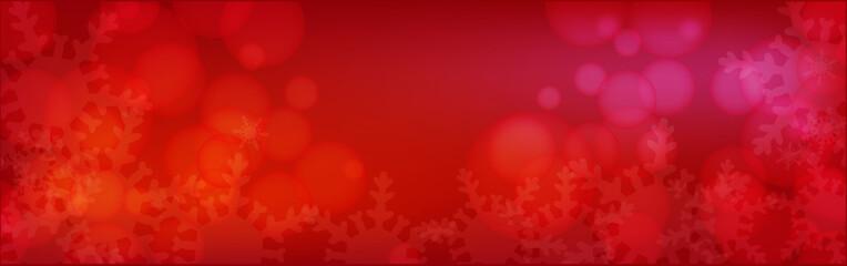 冬の幻想的な雪の結晶背景素材 モバイルビッグバナー