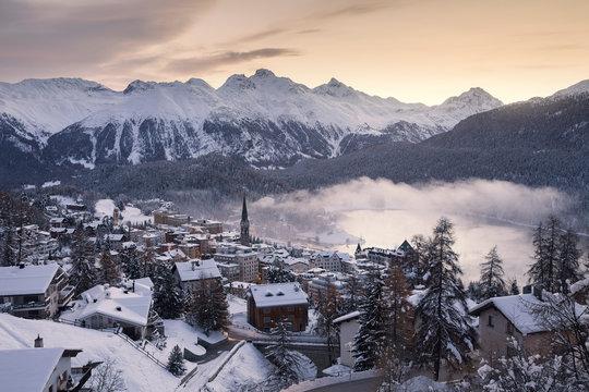 St. Moritz. Switzerland