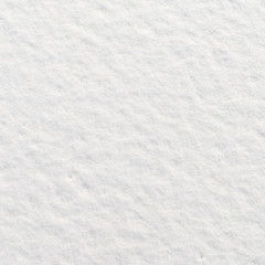 Snow for texture or background, top view