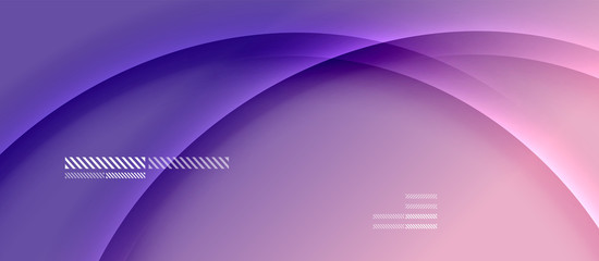 Trendy simple fluid color gradient abstract background with dynamic wave shadow line effect. Vector Illustration For Wallpaper, Banner, Background, Card, Book Illustration, landing page Fototapete
