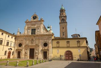Fotomurales - Parma - The baroque church Chiesa di San Giovanni Evangelista (John the Evangelist).