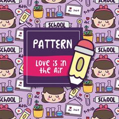 Pattern School Love
