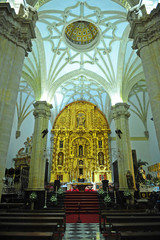 Inside the Cathedral of the Nativity of Our Lady (Natividad de Nuestra Señora) in Baeza. Renaissance town in Jaen province. World heritage site by Unesco