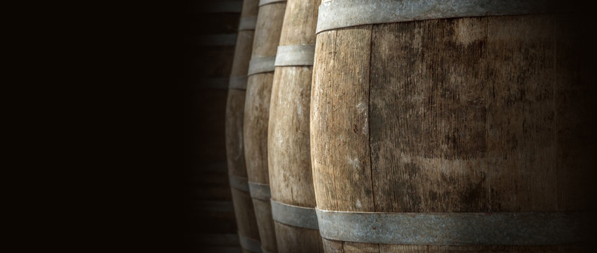 wine barrel texture