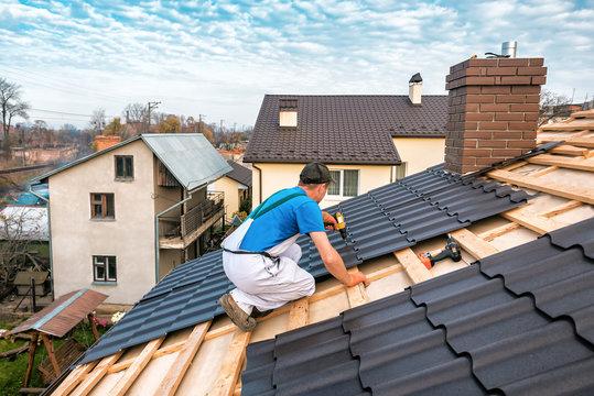 professional roof master repair metal tile