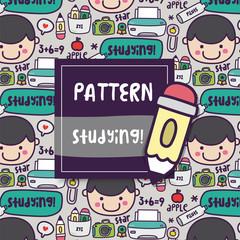 Pattern School Studying