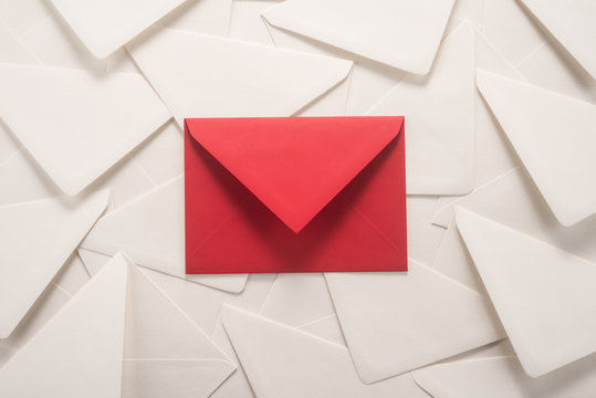 Red and white envelopes