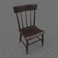 Traditional dining chair 3