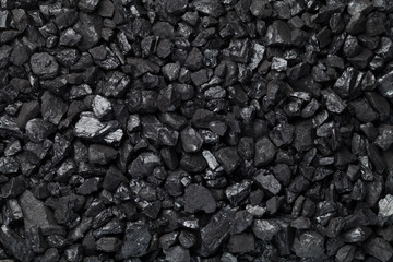 Black Coal Background