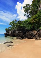 plaża na Krabi Tajlandia