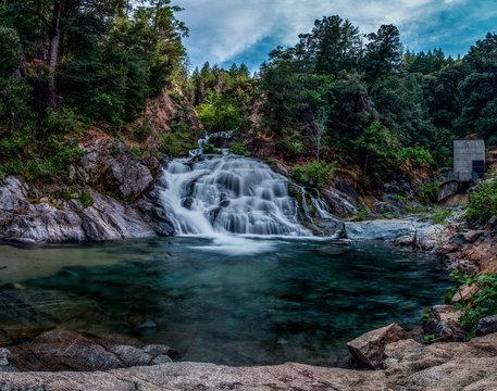 Crystal Creek Falls Summer