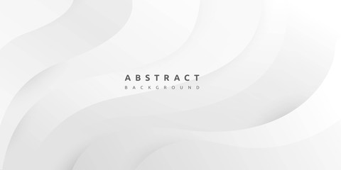 White background with clean and smooth curve design