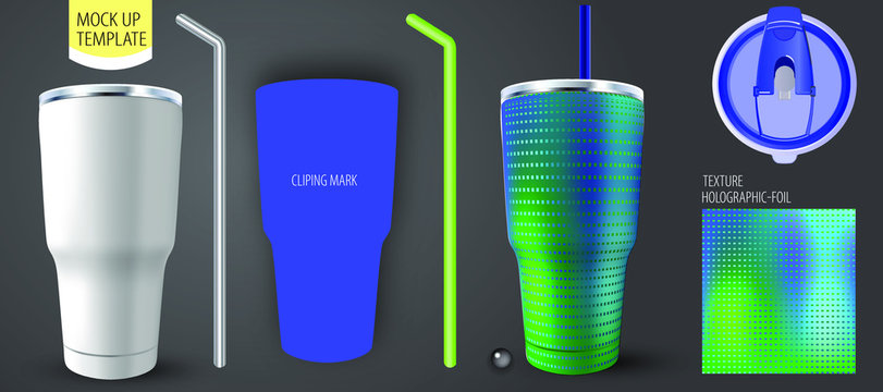 Corporate identity for business, presentations Tumbler brand.