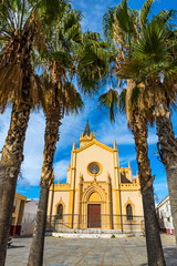 Iglesia de San Pablo (Parroquia San Pablo) is a Catholic Christian temple in the Trinidad district of Malaga, Spain. Built between 1874 and 1891, architect Geronimo Cuervo