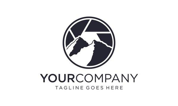 Landscape photography logo design inspirations