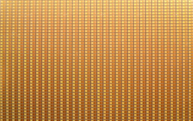 Electronic chips on a wafer