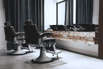 Stylish Vintage Barber Chairs