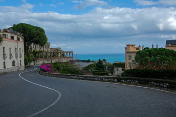 Taormina famous historical touristic town on Sicily, Italy