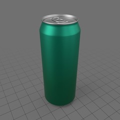 Closed beverage can 2