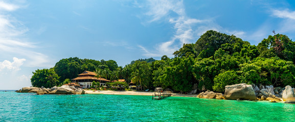 A tropical island, Redang Islands, Malaysia